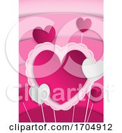 Poster, Art Print Of Mothers Or Valentines Day Background