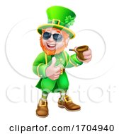 Leprechaun St Patricks Day Cartoon Mascot