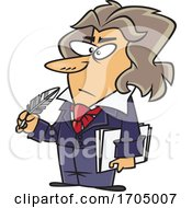 Clipart Cartoon Ludwig Van Beethoven