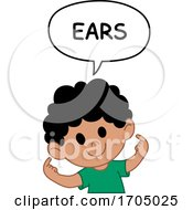03/03/2020 - Boy Pointing To His Ears
