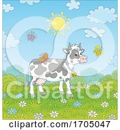 Spring Time Cow