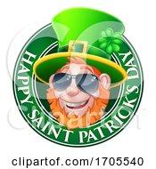 Poster, Art Print Of Leprechaun St Patricks Day Cartoon