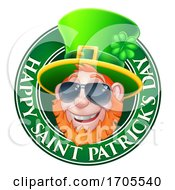 Leprechaun St Patricks Day Cartoon