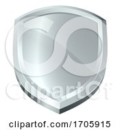 Poster, Art Print Of Shield Icon Secure Protect Security Defence Icon