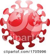Poster, Art Print Of Coronavirus Earth