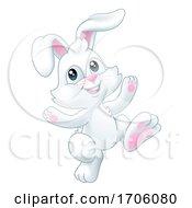 Poster, Art Print Of Easter Bunny Rabbit Cartoon