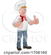 Chef Cook Baker Thumbs Up Cartoon Character