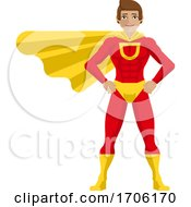 Super Hero Man Cartoon
