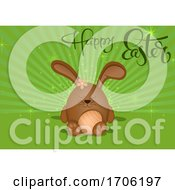 Poster, Art Print Of Happy Easter Design