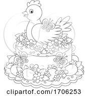 Poster, Art Print Of Easter Cake