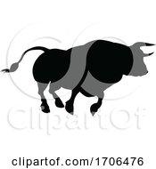 Silhouette Bull