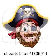 04/09/2020 - Pirate Captain Cartoon Character Mascot