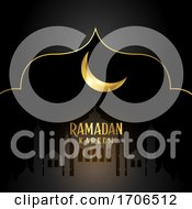 Elegant Background For Ramadan Kareem