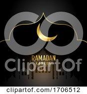 Elegant Background For Ramadan Kareem