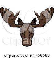 Tough Moose Mascot