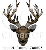 Tough Buck Deer Mascot
