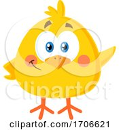Poster, Art Print Of Yellow Easter Chick