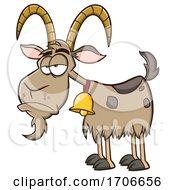 Cartoon Grumpy Goat