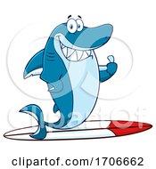 04/11/2020 - Cartoon Surfer Shark