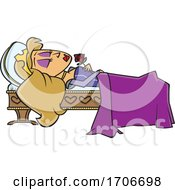 Cartoon Sleeping Beauty