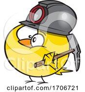 Cartoon Canary Coal Miner