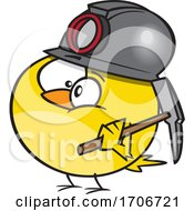 Cartoon Canary Coal Miner