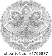 Poster, Art Print Of Pattern Motif Mandala Art Ornament Design Element