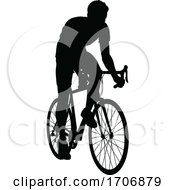 04/12/2020 - Bike Cyclist Riding Bicycle Silhouette