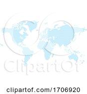Poster, Art Print Of Diamond Flat Squares Map World Background