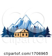 Church And Mountains Logo by Vector Tradition SM