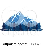 Forest And Mountains Logo