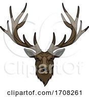 Tough Deer Stag Mascot