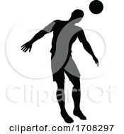 Poster, Art Print Of Soccer Football Player Silhouette