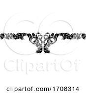04/19/2020 - Filigree Leaf Pattern Floral Scroll Pattern