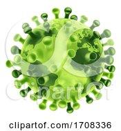 Poster, Art Print Of Coronavirus Virus Cell Global Pandemic World