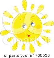 Spring Or Summer Sun Mascot