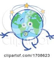 Poster, Art Print Of Cartoon Dizzy Earth