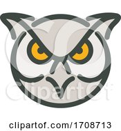 Angry Great Horned Owl