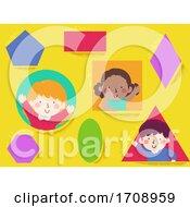 Kids Basic Shapes Illustration