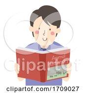Man Animal Husbandry Book Illustration