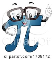 Mascot Pi Did You Know Illustration