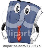 Poster, Art Print Of Mascot Business Book Illustration