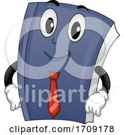 Mascot Business Book Illustration