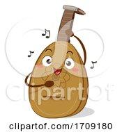 Mascot Lute Illustration