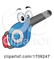 Mascot Portable Vacuum Illustration