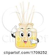 Mascot Essential Oil Diffuser Illustration