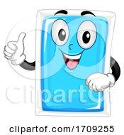 Mascot Gel Ice Pack Illustration