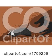 Badger Persecution Wildlife Crime Illustration