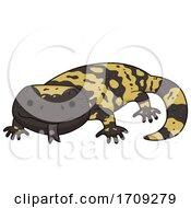 Gila Monster Illustration by BNP Design Studio #COLLC1709279-0148