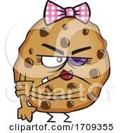 Cartoon Tough Female Cookie